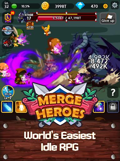 Merge Heroes Frontier: Casual RPG Online 3.3.0 screenshots 10