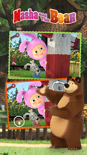 Masha and the Bear - Spot the differences  screenshots 4