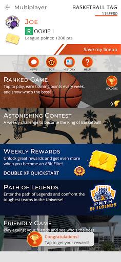 Astonishing Basketball 21- General Manager Game  screenshots 2