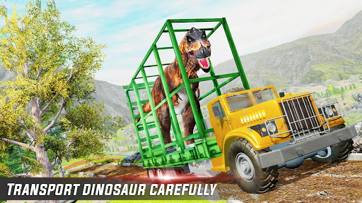 Dino Transport Truck Games: Dinosaur Game 1.6 screenshots 2