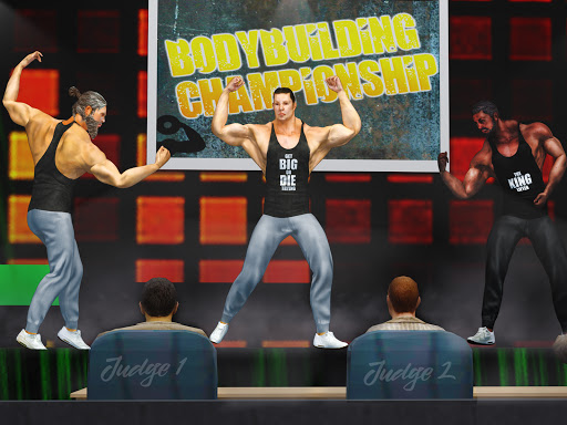GYM Fighting Games: Bodybuilder Trainer Fight PRO  screenshots 13