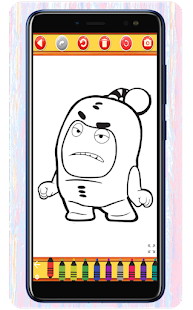 Oddbods Coloring Book - Expert Drawing 1.0 APK + Мод (Unlimited money) за Android