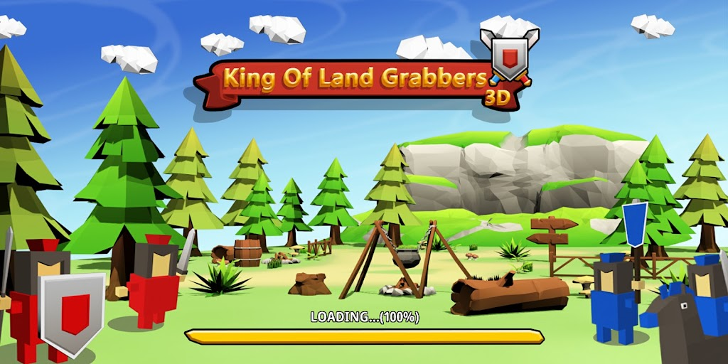 King Of Land Grabbers 3D  poster 0