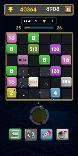 Merge Number Puzzle: Merge! Block Puzzle Game apk 0.4 screenshots 2