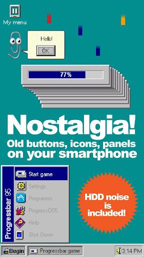 Progressbar95 - easy, nostalgic hyper-casual game Apkfinish screenshots 6