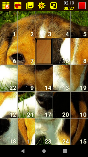 SLIDE PUZZLE 11.1 screenshots 1