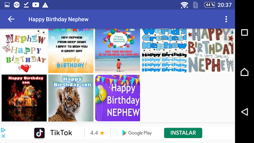 Happy Birthday Nephew screenshots 2