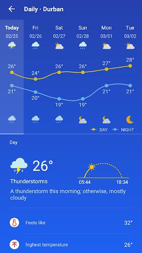 Weather Forecast - live weather radar  screenshots 2