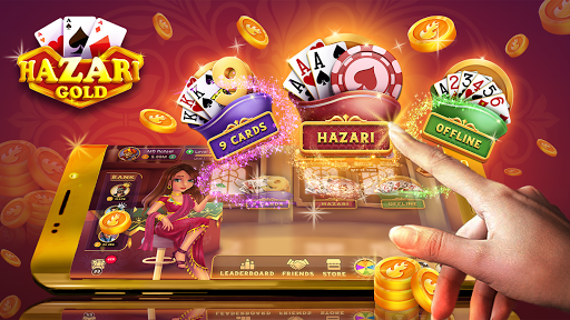 Hazari Gold- (1000 Points Game) & 9 Cards online  screenshots 1