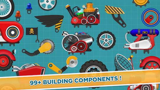 Free Car Builder and Racing Game for Kids 5
