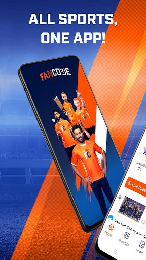 Cricket Live Stream, Scores & Predictions: FanCode android2mod screenshots 1