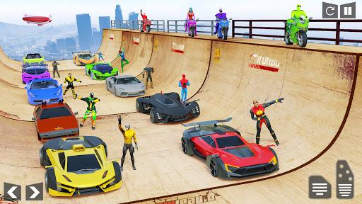 Mega Ramp Car Stunt Racing Games - Free Car Games screenshots 9