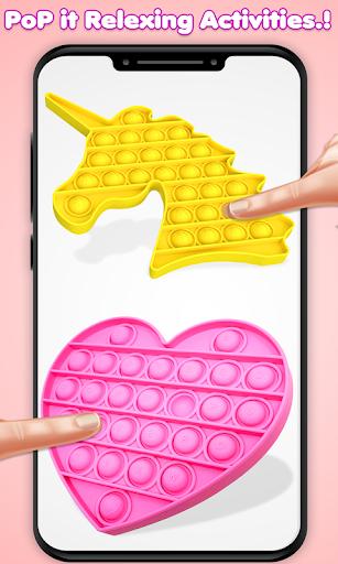 Pop It Fidget Toys Poke & Push Pop Waffle Fidgets 1.1 screenshots 2