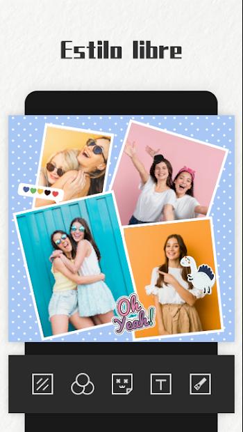 Captura de Pantalla 20 de Photo Collage Maker para android