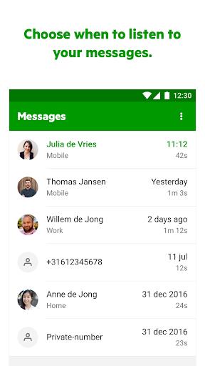 KPN VoiceMail Screenshot 2