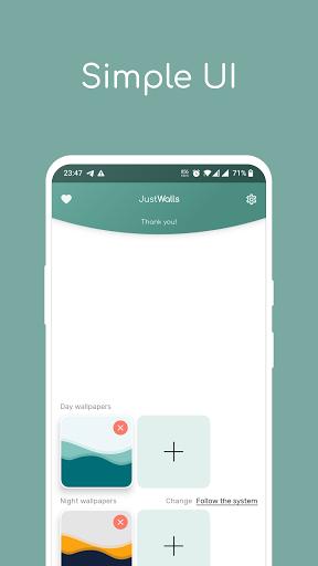 JustWalls - LiveWallpapers (+ Amoled) screenshot 1