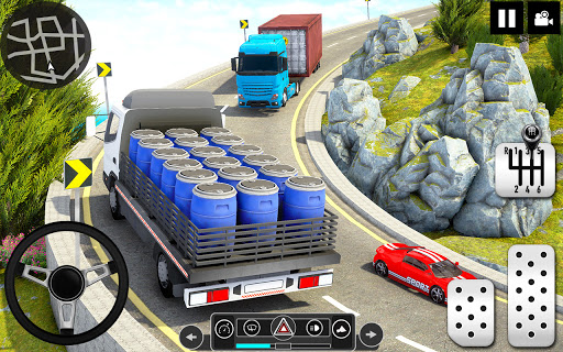Log Transporter Truck Driving : Truck Games 2021 screenshots 16