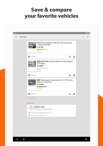 mobile.de u2013 Germanyu2018s largest car market 8.15.2 Screenshots 12