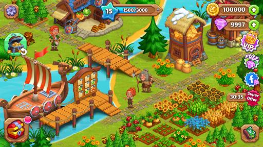 North Dragon Island - build Vikings Farm  screenshots 9