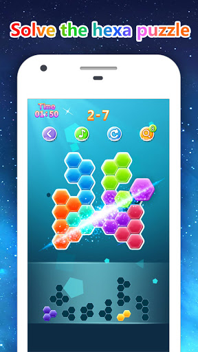 Block Gems: Classic Free Block Puzzle Games android2mod screenshots 3