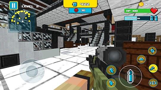 American Block Sniper Survival 1.87 [MOD APK] Latest 3