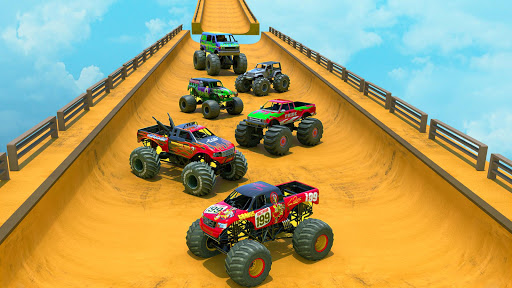 Mega Ramp Monster Truck Driving Stunts Racing Game 2.0.11 screenshots 3