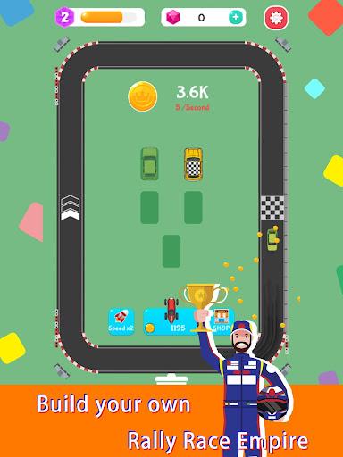 Merge Rally Car - idle racing game  screenshots 11