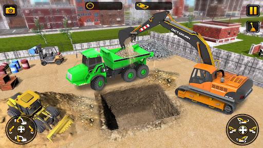 Heavy Construction Simulator Game: Excavator Games 1.0.1 screenshots 2