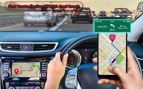 GPS Navigation, Road Maps, GPS Route tracker App 1.8 Screenshots 1