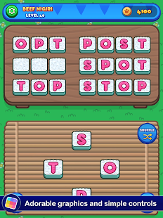 Sushi Cat Words: Addictive Word Puzzle Game Screenshot