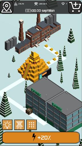 Minr - Gold Idle Incremental Rush Goldmine Tycoon  screenshots 9