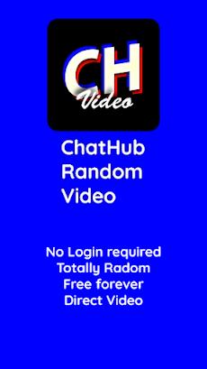 ChatHub Random Video - Sexy Hot Live Video Chatのおすすめ画像1