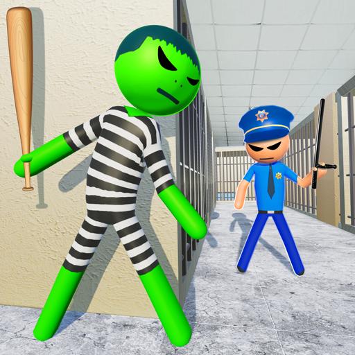 Stickman Incredible Monster : Hero Prison Escape