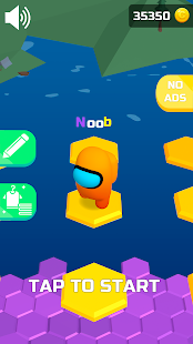 Do Not Fall .io Screenshot