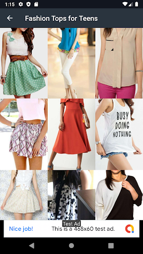Fashion Tops for Teens Design 2.5.0 screenshots 2
