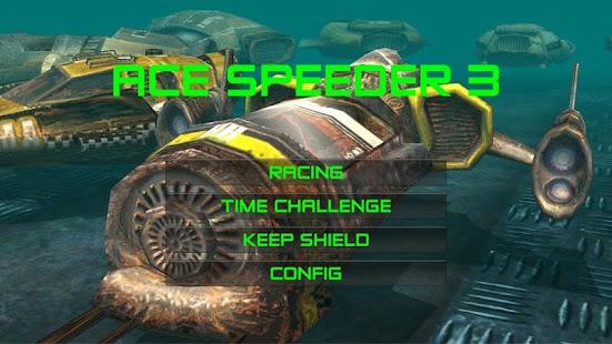Schermata AceSpeeder3