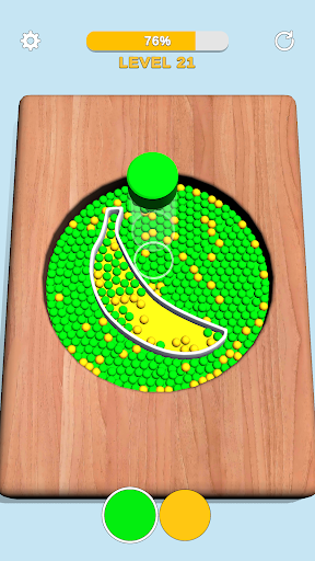 Sorting Beads: Stencil Fill 13 screenshots 2