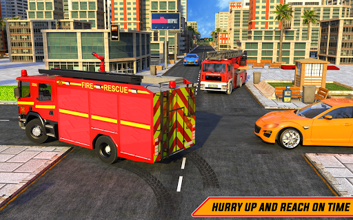 American FireFighter Truck : City Emergency Rescue APK MOD – Monnaie Illimitées (Astuce) screenshots hack proof 2
