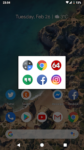 Launcher Tile - Launch Your Favorite Apps Faster Screenshot