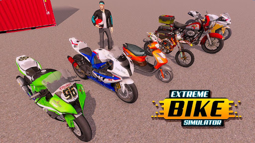 City Bike Driving Simulator-Real Motorcycle Driver screenshots 7