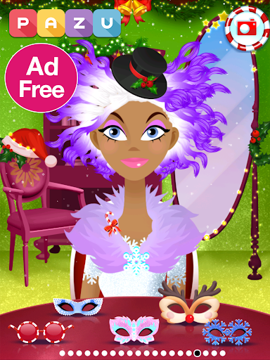 Girls Hair Salon Christmas - Hairstyling for kids 1.03 screenshots 8