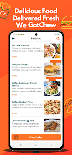 Download Latest GotChew  Food Delivery app for Windows and PC 1