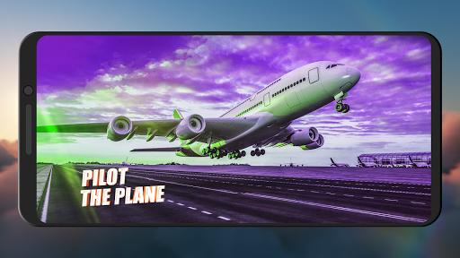 Flight Simulator 2021 ✈️ Airplane Games apklade screenshots 1