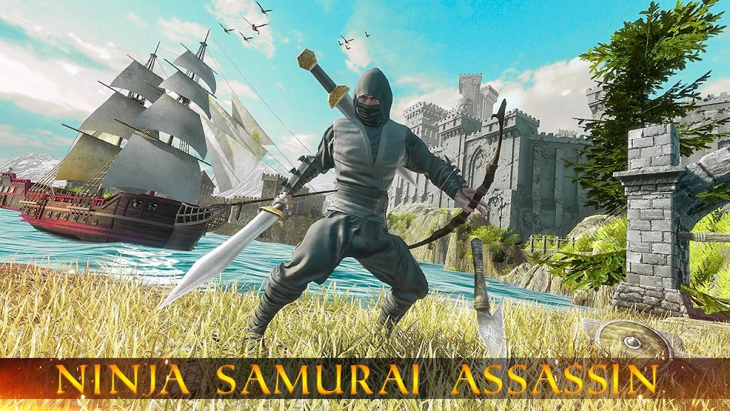 Ninja Samurai Assassin Hunter: Creed Hero fighter poster 5