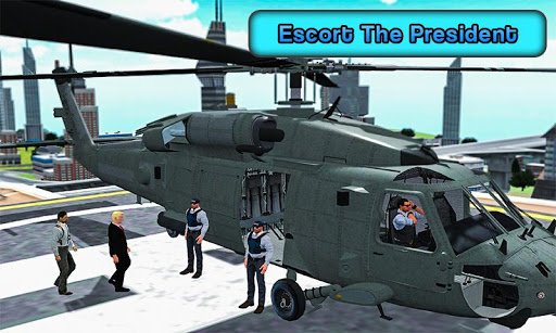 US President Escort Helicopter: Air Force VTOL 3D 1.7 screenshots 2