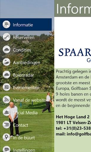 golfbaan spaarnwoude screenshot 2