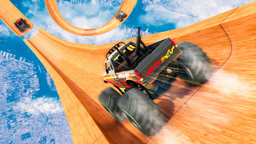 Mega Ramp Monster Truck Driving Stunts Racing Game 2.0.11 screenshots 9