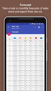 Blue Hour (Solar Photography Calculator) Screenshot
