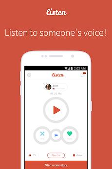 Listen - 無料ボイスチャットルームのおすすめ画像2