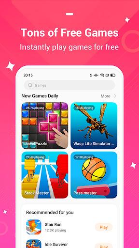 HeyFun - Play instant games & Meet new friends  screenshots 10